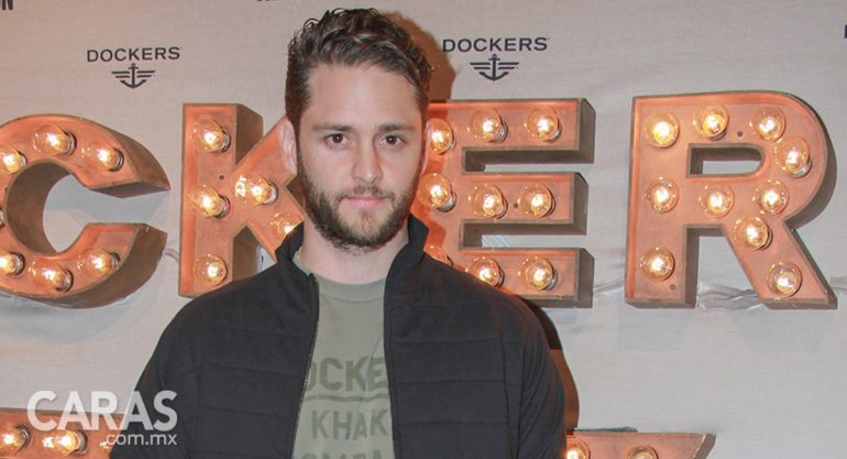 Christopher Uckermann en la fiesta Always On de Dockers