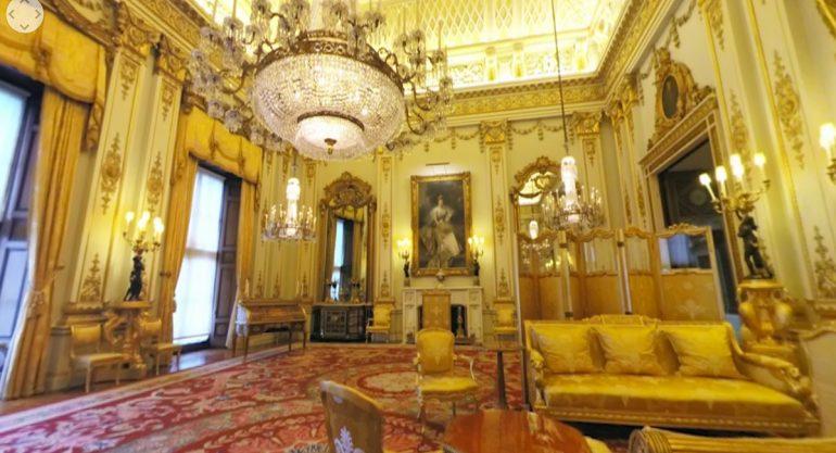 Conoce el interior del Palacio de Buckingham