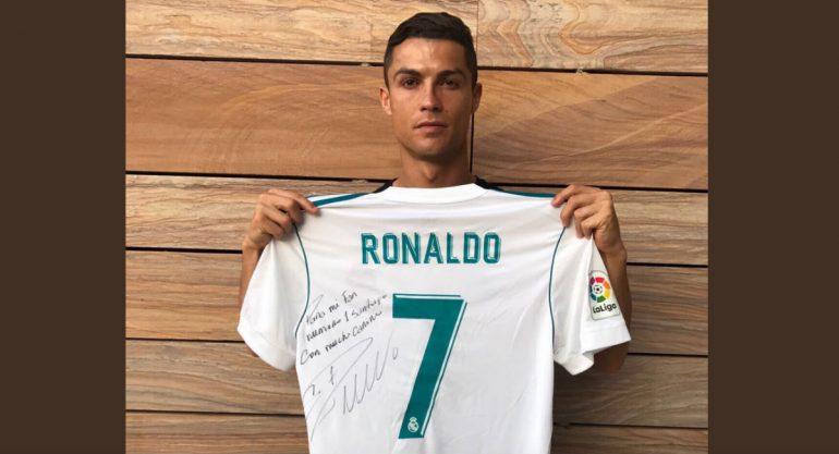 Cristiano Ronaldo envía mensaje a familia del niño que falleció en Colegio Rébsamen