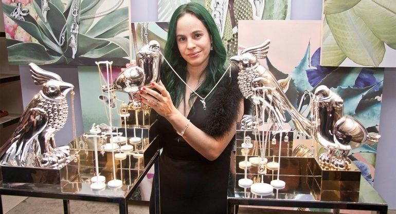 Daniela Villegas presenta su colección de joyas