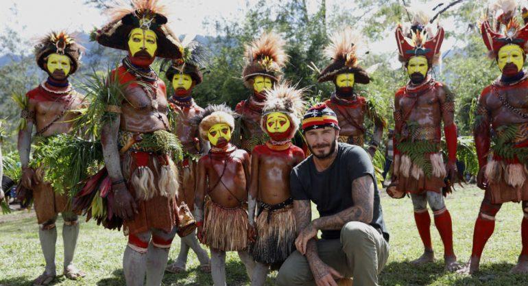 David Beckham recorre el mundo para jugar fútbol
