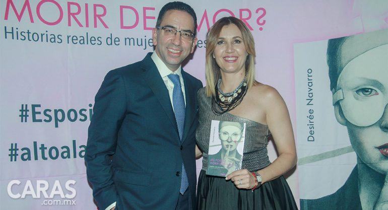 Desirée Navarro presenta su libro en Puebla