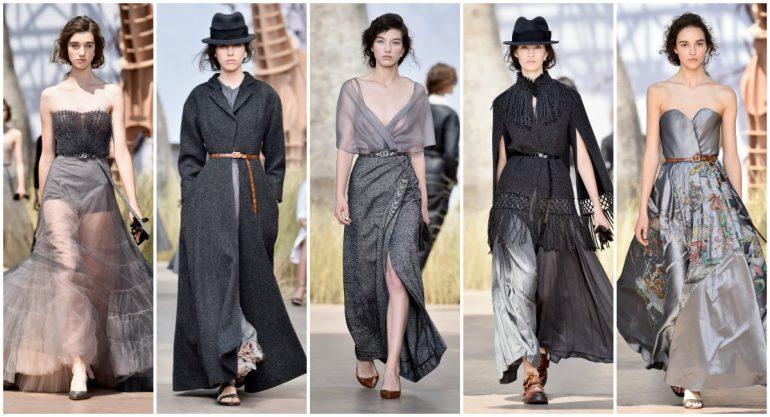 Dior apuesta a los grises en su colección de Haute Couture