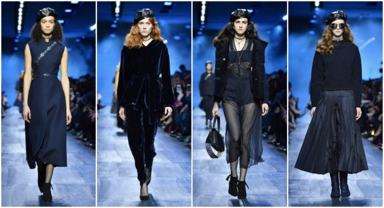 Dior convierte al azul marino en el nuevo negro