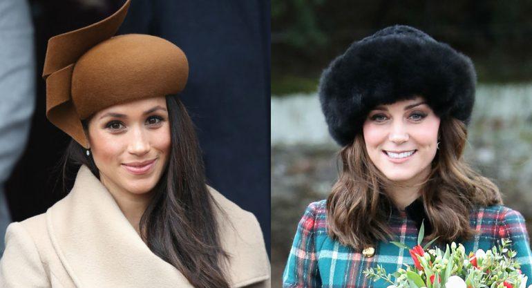 Duelo de estilo: Meghan Markle y Kate Middleton
