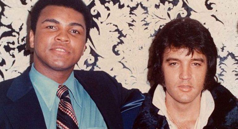 El álbum de Muhammad Ali con celebridades
