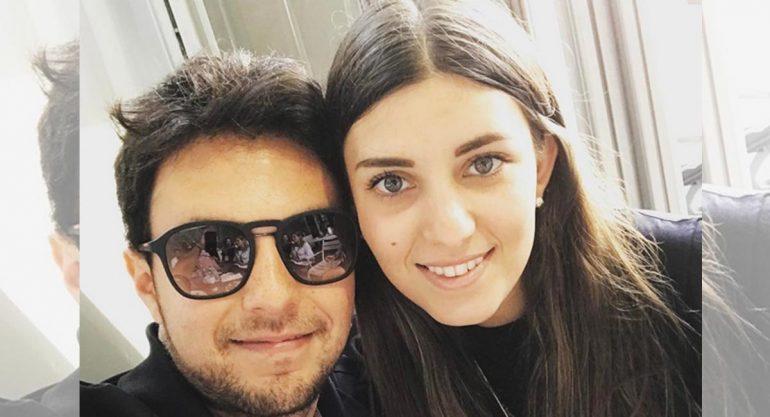 El álbum romántico de Checo Pérez y Carola Martínez