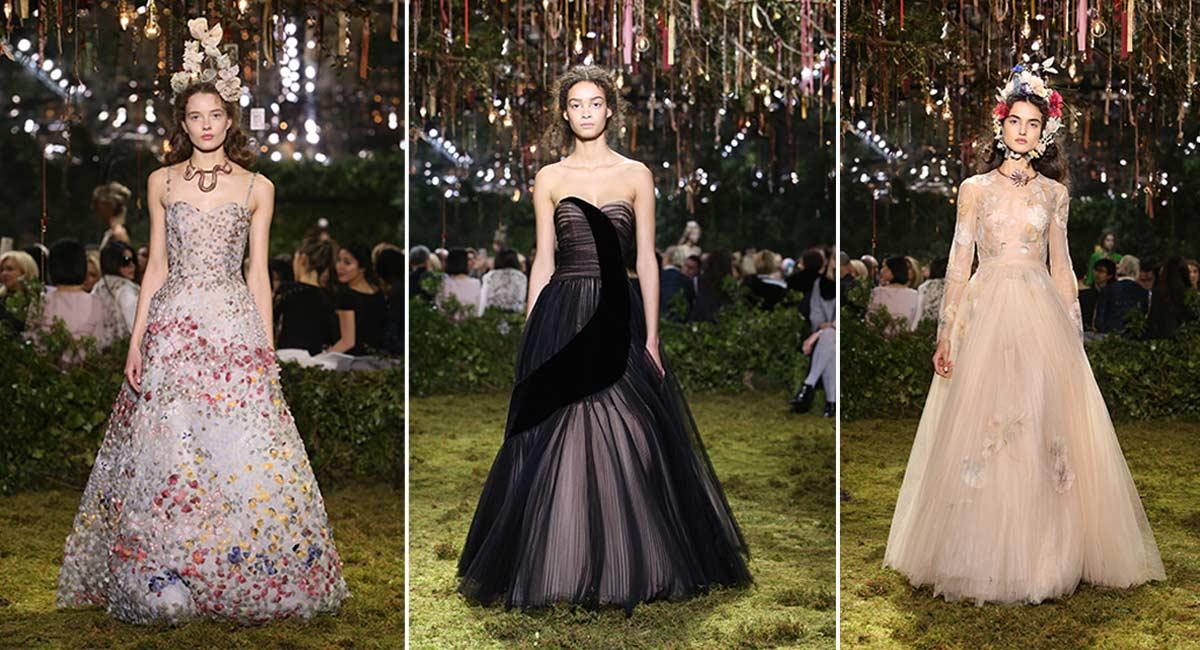 099b1dd73a47 El Haute Couture de cuento de hadas de Dior - Revista Caras