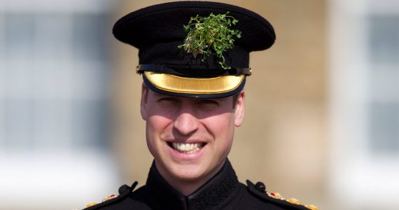 El Príncipe William celebra el Día de San Patricio