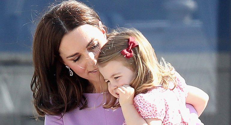 El berrinche de la princesa Charlotte que hizo enojar a Kate Middleton