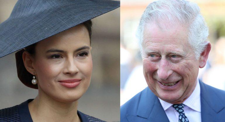 El bonito detalle del príncipe Carlos con la actriz Sophie Winkleman