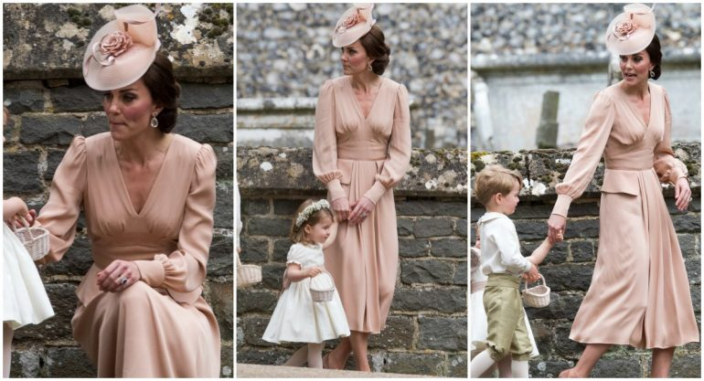 El elegante estilo de Kate en la boda de su hermana Pippa
