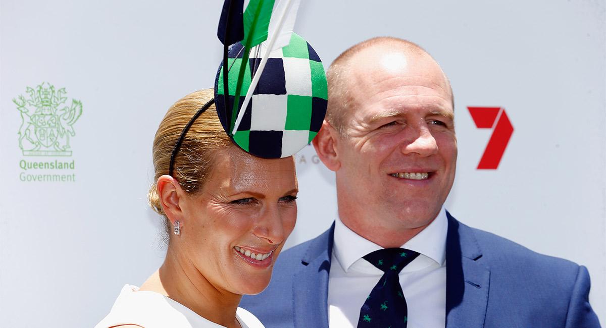 El esposo de Zara Phillips estrena nueva nariz