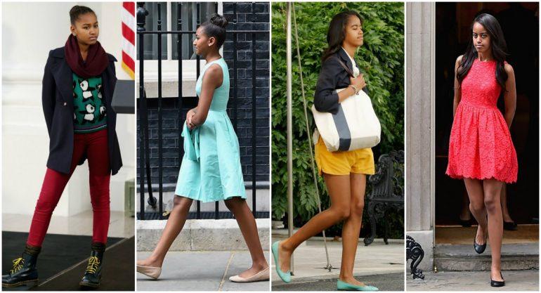 El estilo de Malia y Sasha Obama