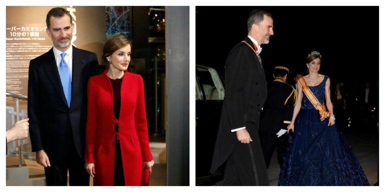 El estilo de la reina Letizia conquista Japón