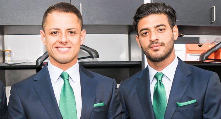 El exclusivo uniforme de la Selección Mexicana