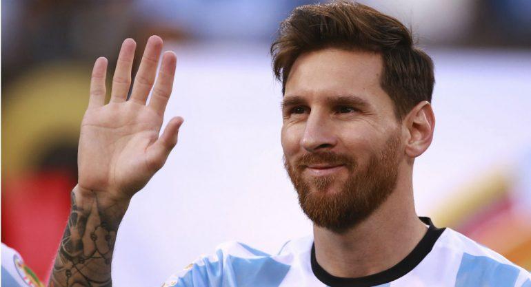 El mensaje de Messi a un niño sobreviviente del Colegio Rébsamen