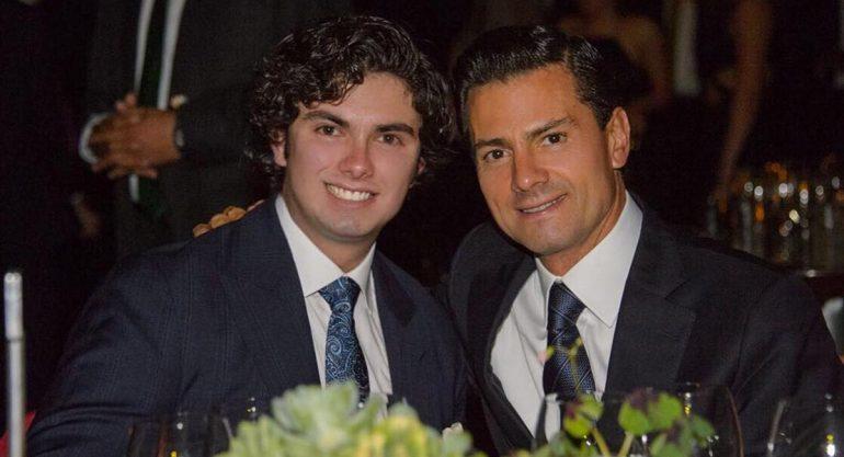 El mensaje de Peña Nieto a su hijo Alejandro en su cumpleaños