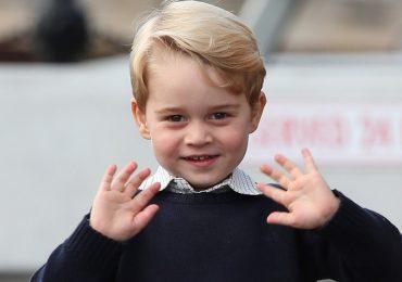 El príncipe George cumple 4 años