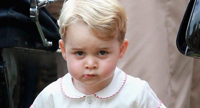 El príncipe George tendrá su primer coche