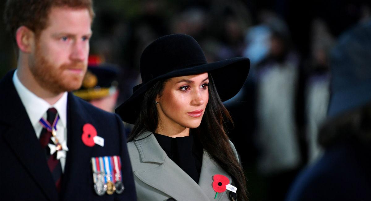 El príncipe Harry y Meghan Markle asisten al Día de Anzac