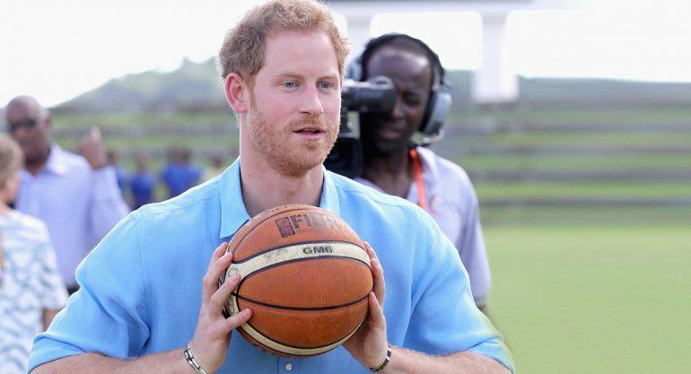 El príncipe Harry y su pasión por los deportes