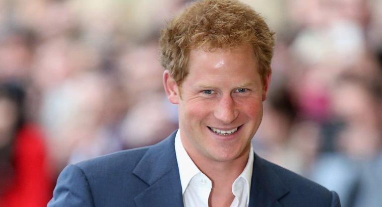 El príncipe Harry ya conoció a su suegro