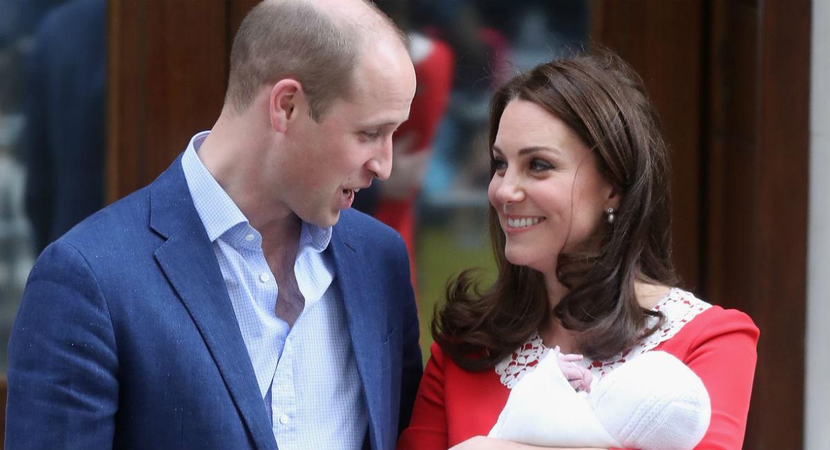 El significado tras el nombre del tercer hijo de los duques de Cambridge