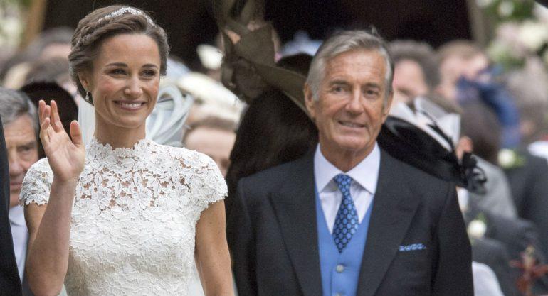 El suegro de Pippa Middleton