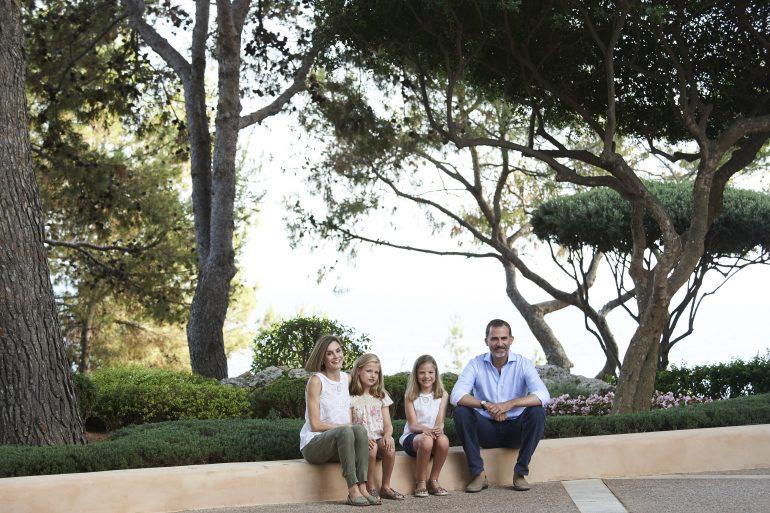 El verano familiar de los Reyes de España