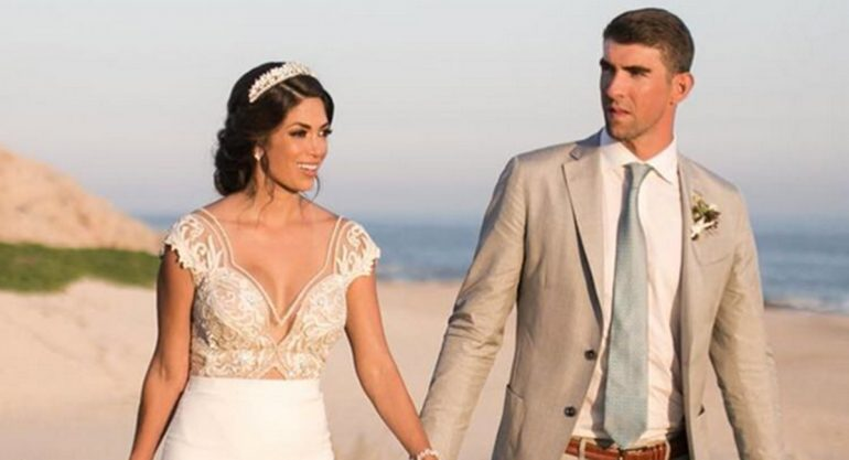 El vestido de novia de  Nicole Johnson