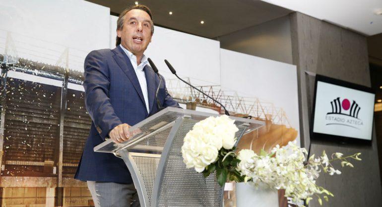 Emilio Azcárraga Jean presenta la nueva cara del Estadio Azteca
