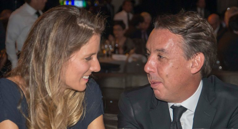 """Emilio Azcárraga y Sharon Fastlicht en la Gala """"Por el Planeta"""""""
