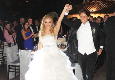 Estela García Roselló y Eduardo García Bejos celebran su boda
