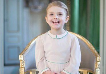 Estelle de Suecia celebra 4 añitos de edad