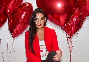 Eugenia de la Vega en el shooting #YoConCorazón