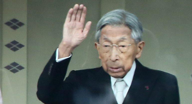 Fallece el príncipe japonés Takahito de Mikasa