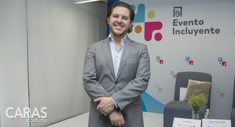 Fernando Estrada presenta el Distintivo Evento Incluyente de Alianza Éntrale