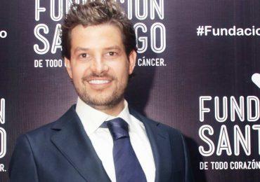 Fernando Quinzaños en el lanzamiento de la Fundación Santiago