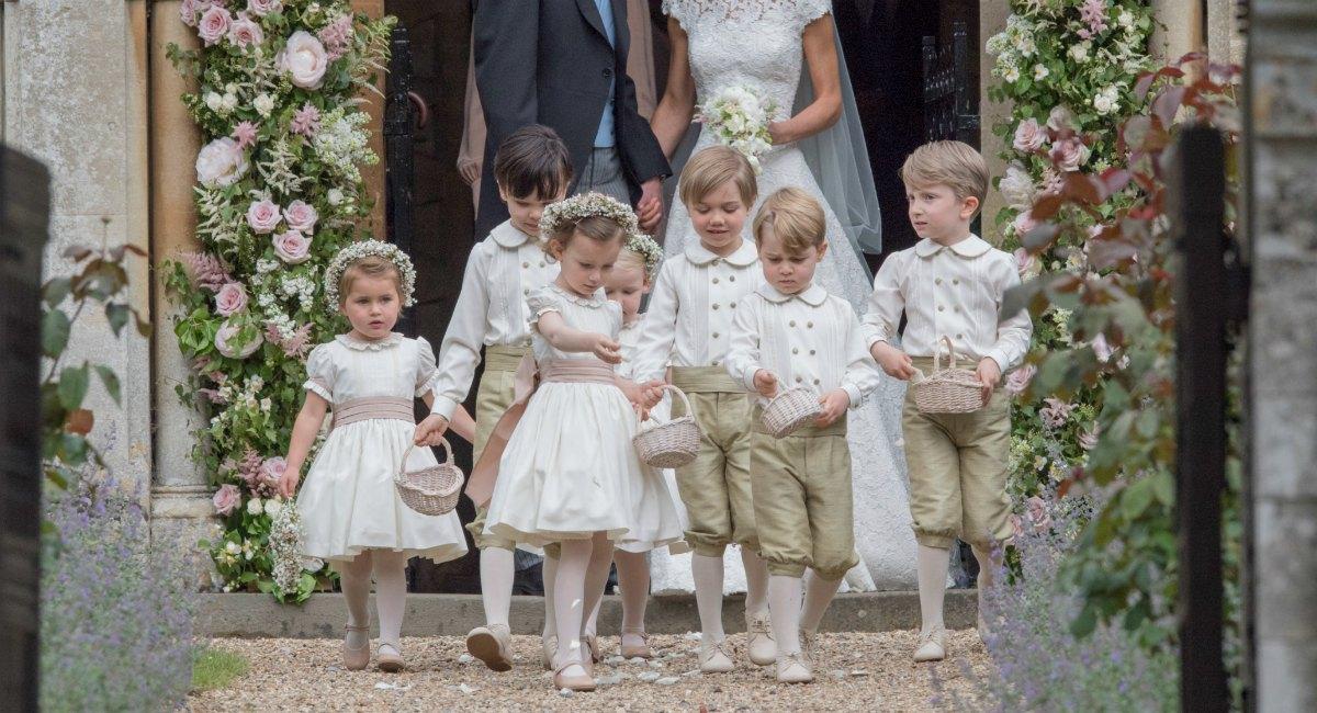 George y Charlotte serán los pajes en la boda de su tío Harry