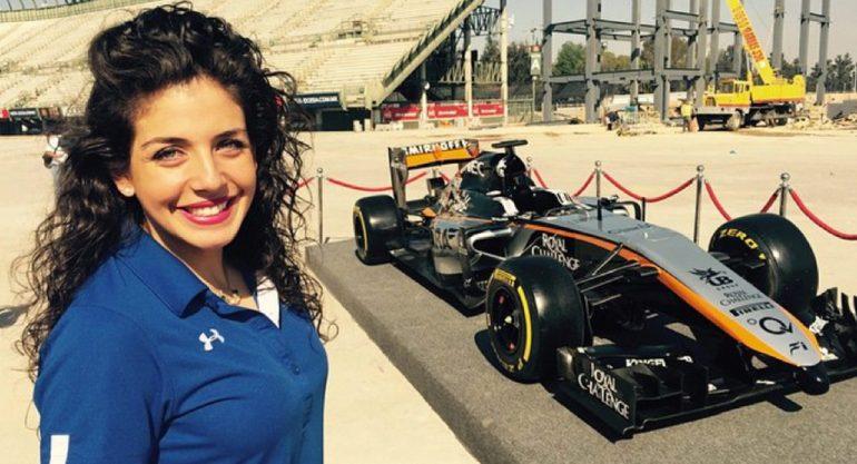 Giselle Zarur Maccise: la mujer que ama la adrenalina