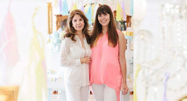 Guadalupe Pineda organiza Baby Shower a su hija
