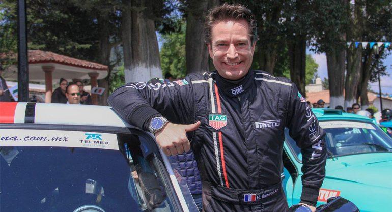 Hilaire Damiron en la Carrera Panamericana 2017