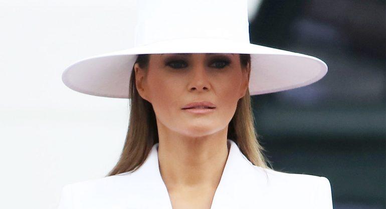 Hospitalizan a Melania Trump