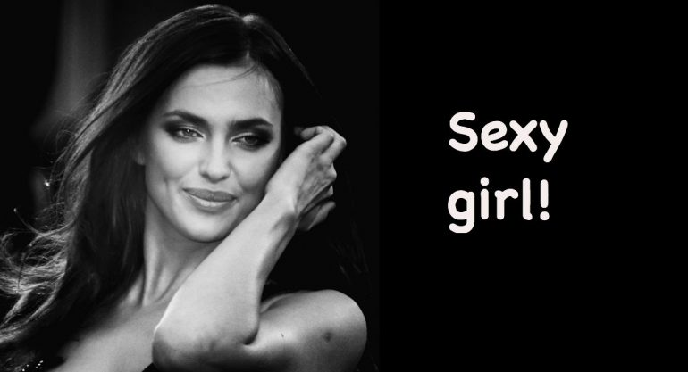 Iirina Shayk y la sexy foto de la que todos hablan