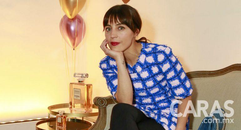 Ilse Salas en la fiesta de Coco Mademoiselle de Chanel