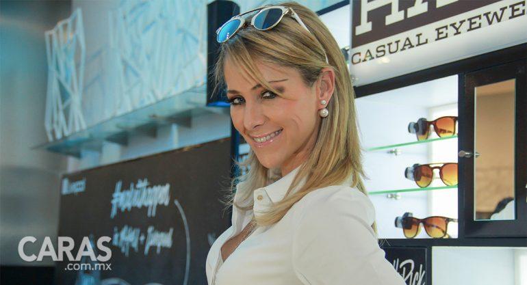 Inés Sainz en el lanzamiento de los lentes 'Must Have'