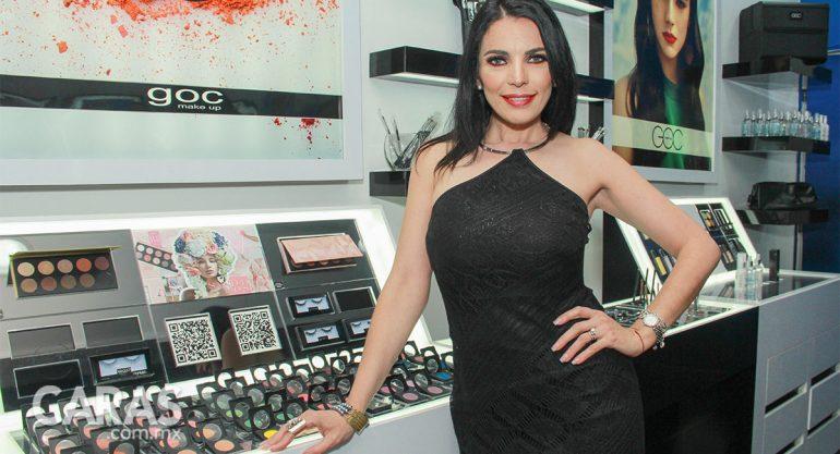 Ingrid Horn en la masterclass de GOC Make up