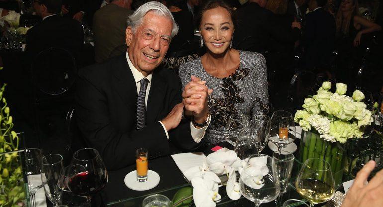 Isabel Preysler descarta boda con Vargas Llosa