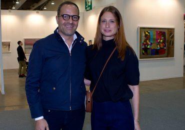 Jaime Gorozpe y Zélika García en Zona Maco 2016